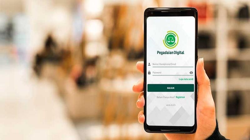 Aplikasi Pegadaian Digital